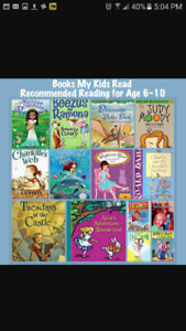 Looking for books for grade 3 readers!