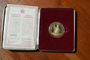 Two Commemerative Pope Coins