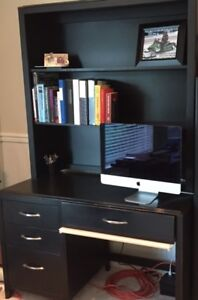 Youth Desk and Bookcase Hutch- Cdn Made