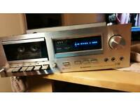Pioneer CT-F600,stereo cassette tape deck, classic rare