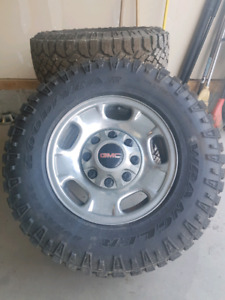 17 inch rims off of GMC 2500
