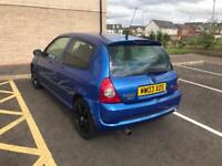 Clio sport 172 CUP edition - not 182 - good track car - sparco wheels