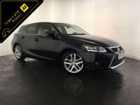 2014 LEXUS CT 200H ADVANCE AUTO HYBRID 1 OWNER LEXUS SERVICE HISTORY FINANCE PX