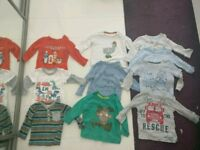 10 boys tops aged 6-9 months