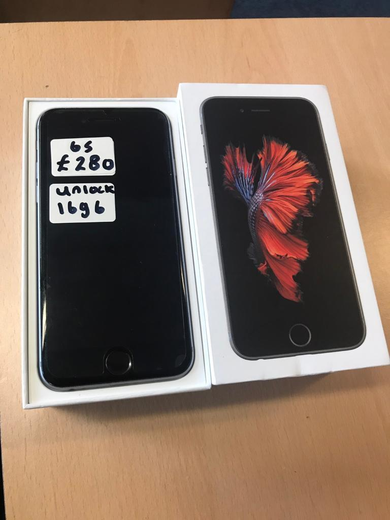 Iphone 6s 16gb space grey unlockedin Ward End, West MidlandsGumtree - Iphone 6s 16gb space grey unlocked to all networks. In good condition. Comes boxed with charger. £280 no offersIphone 6s 16gb rose gold unlocked to all networks. In good condition. Comes with charger only. £280 no offers