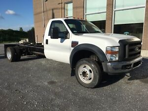 Ford F550 chassis cabine turbo diesel F-550