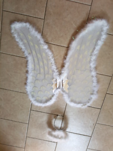 3 peice angel Halloween costume