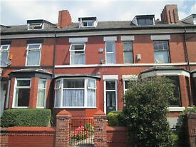 Available Now -Withington, Manchester - Victorian Terrace 3 floors + basement