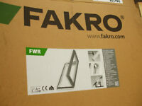FAKRO ROOF WINDOW, ESCAPE WINDOW, ACCESS WINDOW. UNUSED.