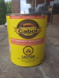 Cabot Semi-Transparent Deck and Siding Stain