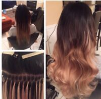 HAIR EXTENSIONS- PROMOTION- TAPE IN AND FUSION