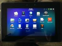 Blackberry Playbook 32GB 7-inch Tablet +rapid charger +2 cases