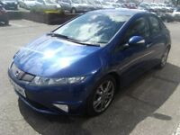 2010 59 HONDA CIVIC 1.8 I-VTEC SI 5D 138 BHP **** GUARANTEED FINANCE **** PART EX WELCOME ****