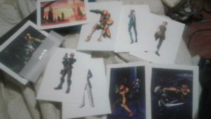Metroid Other M Poster and Art Folio