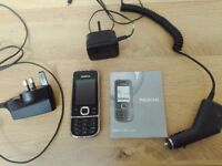 NOKIA MOBILE PHONE - MODEL 2700 - CHARGER & CAR CHARGER - TESCOS (O2)