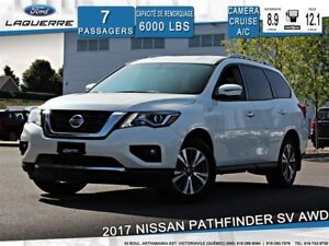 2017 Nissan Pathfinder SV**AWD*7 PLACES*CAMERA*CRUISE*A/C 2 ZONE