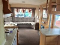CHEAP STATIC CARAVAN FOR SALE. CHOICE OF 2 PARKS ON THE NORTHUMBERLAND COAST.