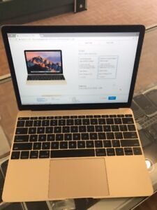 SELLING 2015 MACBOOK 8GB, 500 SSD, INTEL 1.2GHZ retina display