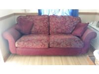 RED LARGE SOFA