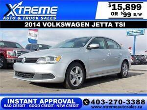 2014 Volkswagen Jetta 1.8 TSI Comfortline $99 bi-weekly $0 DOWN