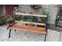 Victorian renovated garden bench