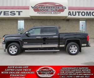 2014 GMC Sierra 1500 BLACK CREW SLT ALL TERRAIN EDITION 4x4, LEA