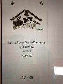 Rang rover/discovery tow bar