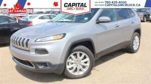 2016 Jeep Cherokee Limited 4WD SUNROOF LEATHER NAV 20K KMS