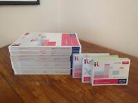 Full set of Kaplan Cima Operation level study books (Study text, Exam kit, Revision cards) RRP £230