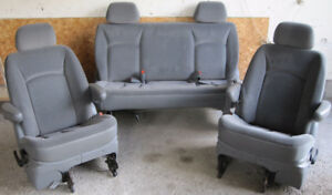 2004 Dodge Caravan Seats Two Captain And One Back Seat