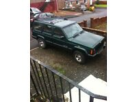 JEEP CHEROKEE TURBO DIESEL 2.5L GREEN MOT'D 1 YEAR