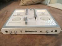 iPod mixing console