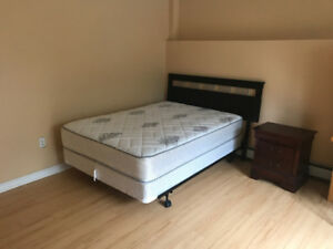 Furnished two large Bedrooms for Rent in South End