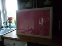 Cerise Pink Map of Paris for sale