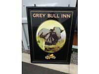 Genuine electric pub sign