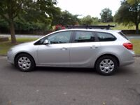 Vauxhall Astra Estate 1.7 CDTi. Exclusiv. 1 Owner. Air Con, Bluetooth, CD, Pas.Elec windows & Mirror