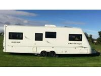 Fleetwood Heritage 640ES 2007 4 berth caravan for sale, Anglesey
