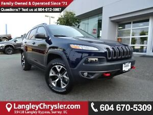 2016 Jeep Cherokee Trailhawk *ACCIDENT FREE*ONE OWNER*