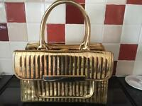 Gold Ted Baker Handbag