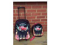 Cars Backpack & travel case