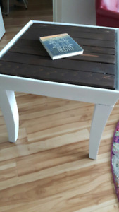 Country Cottage Chic Accent Table