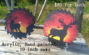 Painted Table Saw Blades