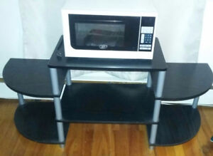 Microwave and TV Stand for sale