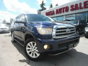 2008 Toyota Sequoia 4WD Platinum NAVI LOW KM NO ACCIDENT 1 OWNER