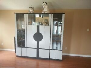 luxucry display cabinet-3 pieces