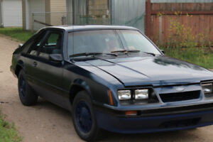1986 Ford Mustang lx 2.3 liter