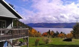 Splendide Panorama Fjord Saguenay- Spécial dernière minute!