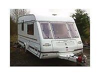 Touring Caravan Compass Connoisseur 440-2 1997