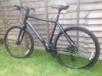 Cannondale Bad Boy Fatty Large. Hydraulic Disc Brakes, Shimano Deore, Hybrid Commuter Bike