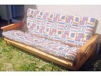 Pine Framed Sofa bed / Futon
